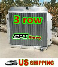3CORE ALUMINUM RADIATOR 1949 1950 1951 1952 1953 1954 Chevy  Chevrolet Cars V8