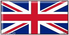2 Union Jack GB flag decal window sticker Static Cling car bus caravan campervan