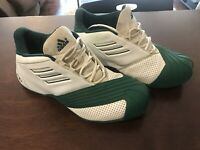 Adidas TMac 1 Basketball Shoes Men's 10 Tracy Mcgrady (Green/White)