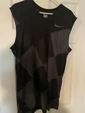 Nike Kobe Tank Top Rare Color Xl Checkered Purple jersey