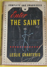 Enter The Saint – Leslie Charteris Paperback Mystery! Nice See!