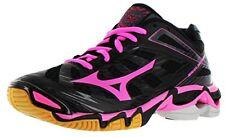 Mizuno Women's Wave Lightning RX3 Volley Ball Shoe,Black/Pink,9.5 M US