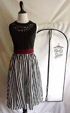 NWT Disney Parks Dress Shop XS Pirates of the Caribbean Dapper Day Dress & Bag