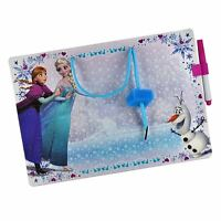 New Disney Elsa & Anna Frozen Board Includes Dry Eraser with Pen Notice Message