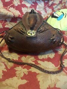 Vintage taxidermy armadillo purse final price drop