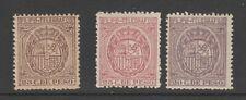 Spain Philippines revenue fiscal stamp 4-15 Telegraph