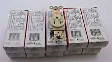 LOT OF 10 -  PASS AND SEYMOUR SINGLE RECEPTACLE 5361-I