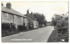 WINTERBOURNE ABBAS View in the Village, RP Postcard by Chapman, Unused