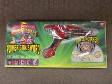 * BANDAI MIGHTY MORPHIN POWER RANGERS POWERMORPHER & POWER GUN/SWORD 1993 *ST