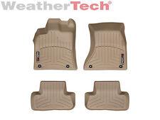 WeatherTech Floor Mats FloorLiner for Audi Q5/SQ5 - 1st & 2nd Row - Tan