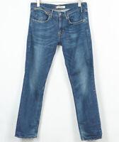 Levis 519 Slim Fit Jeans Stretch Cotone Elastan da Uomo Misura W34 L32
