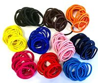 20 x Colourful Ladies Hair Bands Girls Thick Snag Free Hair Bobbles Ponytail