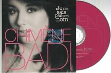 Chimene Badi Je Ne Sais Pas Son Nom CD PROMO