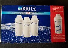 BRITA CLASSIC WATER FILTER CARTRIDGES 3+1 FREE