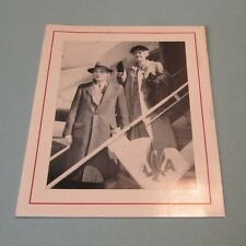 1953 Harvard President James Conant Pictorial Christmas Card American Airlines