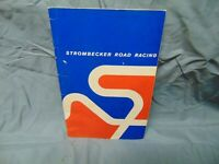 1962 Strombecker slot car guide to racing 1/32 scale track  1/24 slot racers 32p