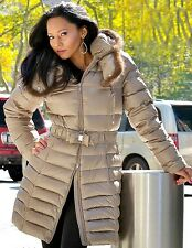 * Goose Down Coat Jacket Parka w/ Mink Fur sz XXL  US 14 EU 46 Пуховик Mex Норка
