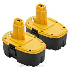 Lot of 2 18V Battery for Dewalt 18V XRP Battery DC9096-2 DC9098 DC9099 DW9095