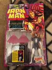 1994 Iron Man Spider-Woman Psionic Web Action Figure Toy Biz Marvel - Estate
