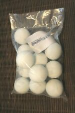 Champion Sports Official Lacrosse Balls Pack of 12 White Nocsae Standards Ncaa