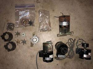 FOUR March Pumps Models 809-BR 115v 0809-0064-0100 hot water recirculation pump