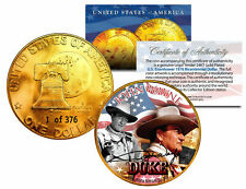 1976 JOHN WAYNE 24K Gold Plated IKE Dollar *Each Coin Serial Numbered of 376*