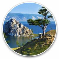 2 x Vinyl Stickers 7.5cm - Lake Baikal Russia Travel Fun Cool Gift #2226