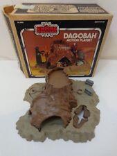 Vintage 1981 Kenner STAR WARS Dagobah Action Playset Includes BOG Original Box
