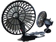 12V Ventilator Lüfter für Auto PKW KFZ Saugnapf Oszillierende Autoventilator