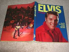 Elvis -Photos lots of photos - Hard Cover Book by Peter Jones 1976-collectible