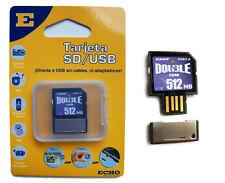 Carte Mémoire de LA SD 512MB fonction USB