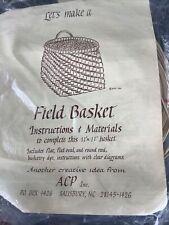 11x11 Field Basket Weaving Kit Reed & Cane Basket Making