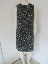 New Dolce & Gabbana Polka Dot and Skull and Crossbones Print Dress