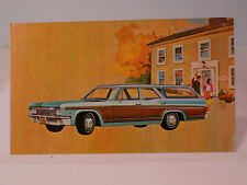 New Old Stock 1966 Chevrolet Caprice Dealers Promo Post Card Unused Litho in USA