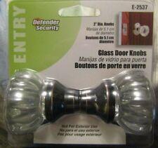 "GLASS DOOR KNOBS E-2537 DEFENDER SECURITY 2""DIA KNOBS"