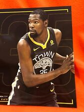 Cheer Card Authentic Fan Golden State Warriors Kevin Durant SGA 2017-2018