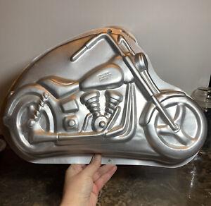 Vintage Wilton 1999 Motorcycle Cake Pan 2105-2025