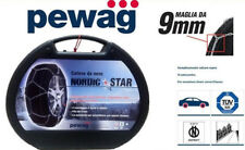 CATENE DA NEVE PEWAG NORDIC STAR 07 9mm 205/60-14 165/80-15 175/70-15 185/65-15