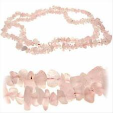 Rose Quartz Chip Strech Bracelet