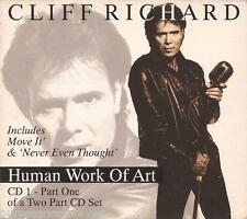 CLIFF RICHARD - Human Work Of Art (UK 3 Tk CD Single Pt 1)