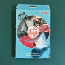 PFAFF Creative Cross Stitcher Creative Software CD