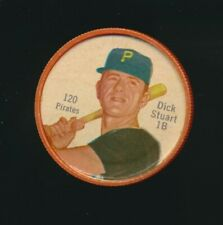 1962 Shirriff Canadian Plastic Coin Baseball RARE #120 Dick Stuart Pirates