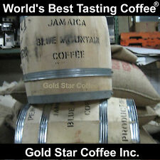 100% Jamaica Blue Mountain Coffee Green Beans - 2 lb - For Home Roasting