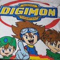 Vintage Digimon Digital Monsters Beach Towel Unbeatable Team A Hongo 2000