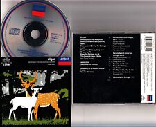 W. GERMANY PDO -ELGAR: -Serenade/Introduction Allegro CD -Neville Marriner