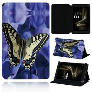 """Butterfly PU Smart Stand Case cover Fit Asus ZenPad 7.0"""" 8.0"""" 10"""" / S 8.0 /C 7.0"""