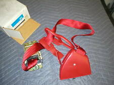 1982-92 Camaro Firebird Flame Red Drivers retractor Seat Belt NOS GM left LH NEW