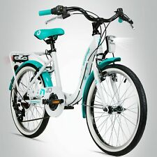 20 Zoll Kinderfahrrad Bergsteiger Atlantis STVO Citybike Mädchen Fahrrad B-WARE