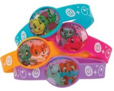 4 Hatchimals Colleggtibles Rubber Bracelets Birthday Party Favor Jewelry Narwhal