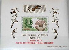 NIGER 1974 Block 11 S/S C239 Soccer World Cup Munich Winner ovp Fußball WM MNH